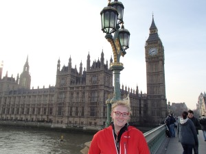 Me and Big Ben Me- yep in London- My first real London site