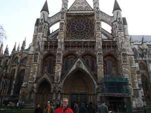 Westminster Abbey- I can't wait to go in- I will eventually spend the money.
