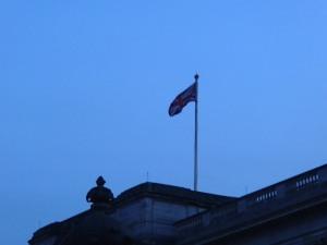 Queen's flag.