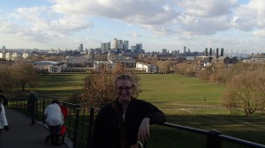 View of London from Royal observatory
