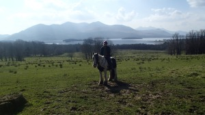 Horse back riding in Killarney. This is how I celebrated St. Patrick's day.